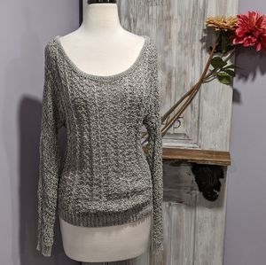 American Eagle Outfitters open-weave sweater